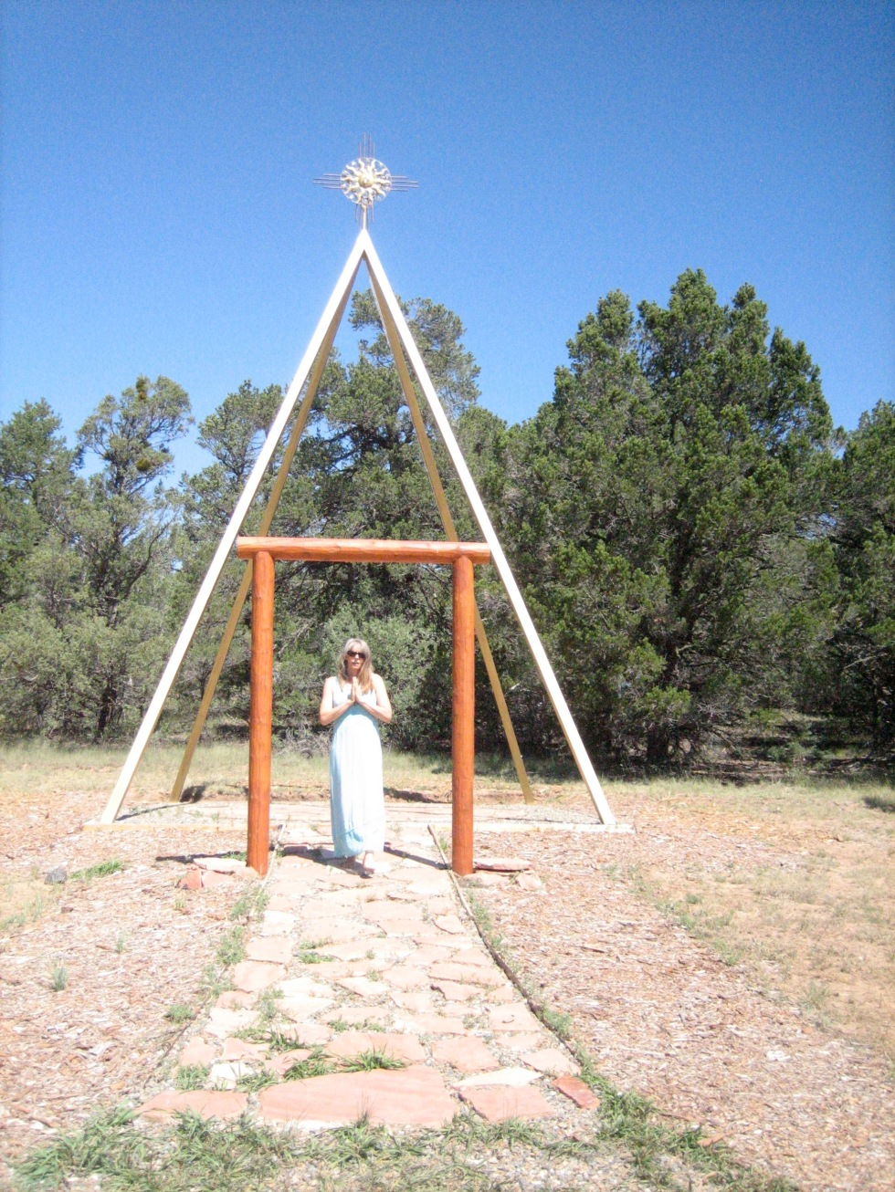 """Tosa Ranch New Mexico October 2019  """"May I walk in sacred Union with all in Unity with in and without."""" Maria Kramer"""